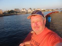 Jim on Shark River, NJ.