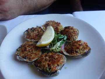 Baked Clams.
