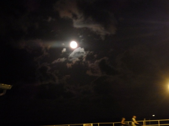 Full moon. Bradley Beach, NJ.