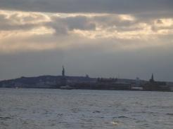Statue of Libert and Staten Island