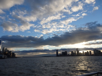 Hudson sunset.