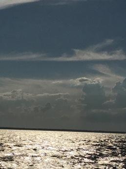 Clouds Fire Island