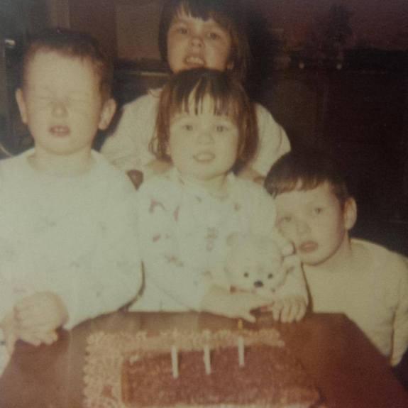 when we were 4