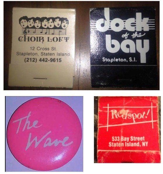 Vintage Bay Street Matchbooks