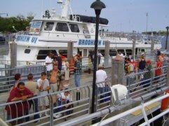 Sheepshead Bay party boats.