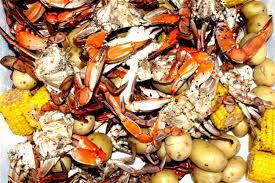 garlic crab finished