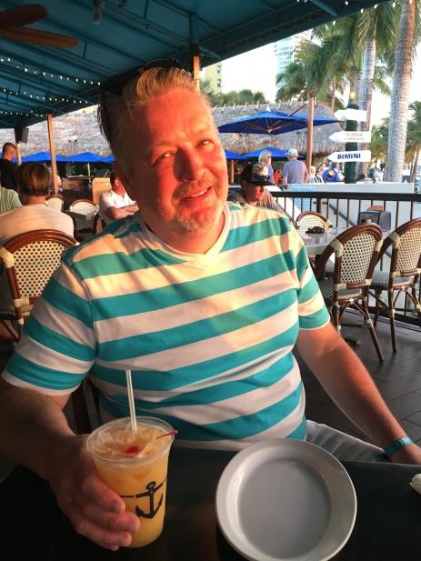 Jim sunset Miami.