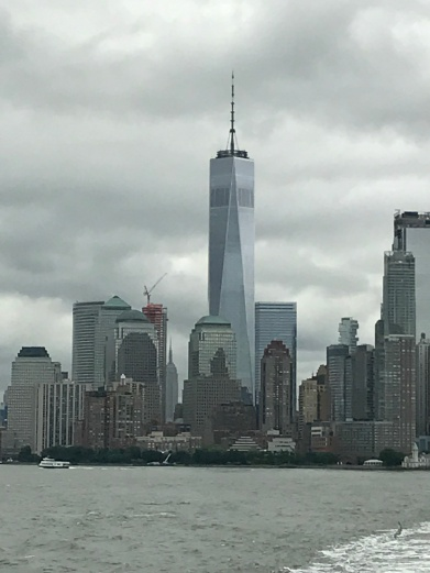 Freedom Tower from SI Ferry.