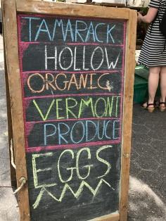 Tamarack Hollow stand.