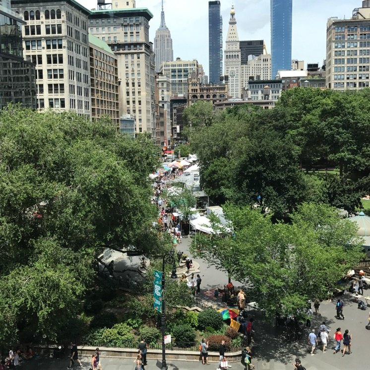 Union Square from above