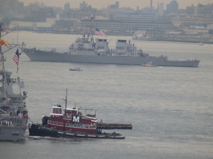 Tugs in NY Harbor.