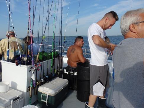 Ocean Eagle crew.
