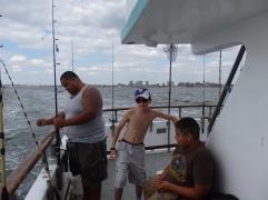 Joe on Sea Queen.