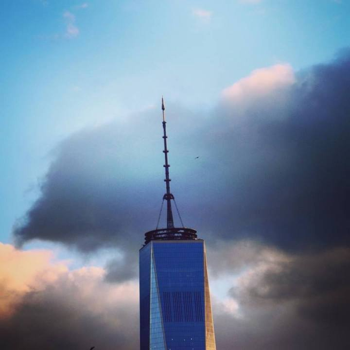 Sunset Freedom Tower.