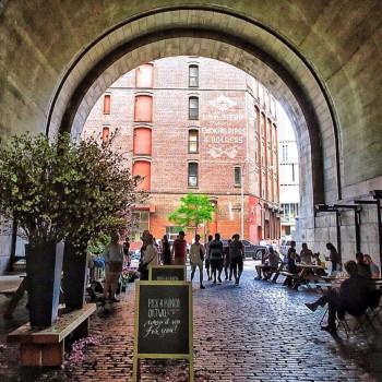 Brooklyn Flea under Manhattan Bridge,