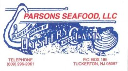 Parsons Seafood.