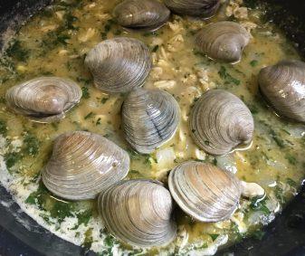 White clam sauce.