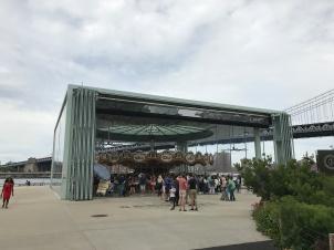 Jane's Carousel at Brooklyn Bridge Park.