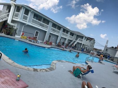Pool at BeachWalk, Sea Bright, NJ.