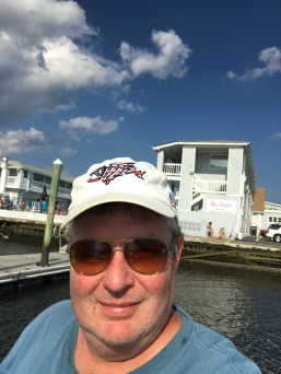 Jim happy fishing.