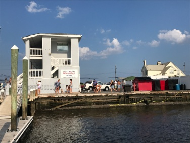 River side BeachWalk, Sea Bright, NJ.