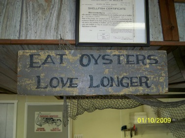 Eat oysters!