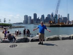 Jim at Brooklyn Brdge Park.
