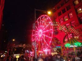Ferris wheel at san Gennaro.