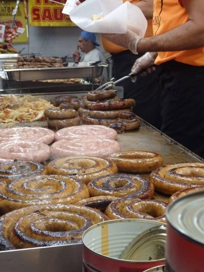 Sausage at San Gennaro.