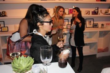 People watching at New York Fashion Week.