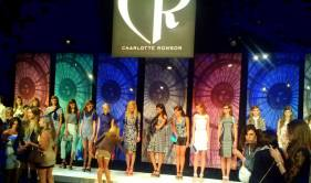 Charlotte Ronson show at New York Fashion Week.
