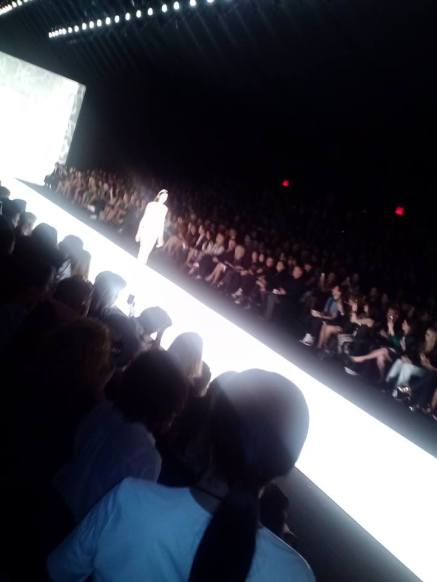 Runway at New York Fashion Week.