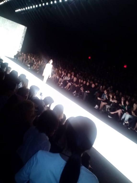 Runway at New York Fashion Week.