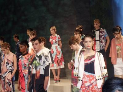 More Models at New York Fashion Week.