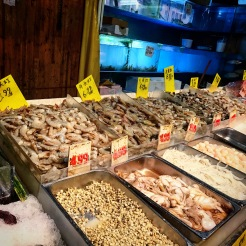 Fish counter in Chinatown