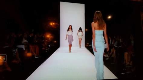 Runway show at New York Fashion Week.