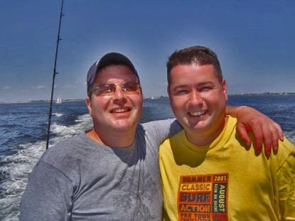 jim col at sea