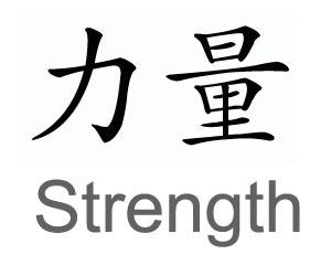 chinese-symbol-strength