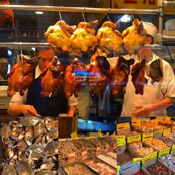 Chinatown sample platter.