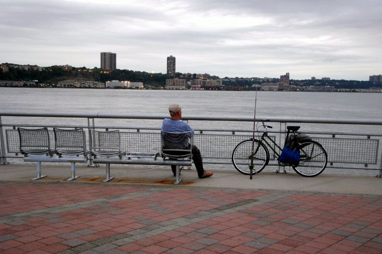 riverside park fisherman