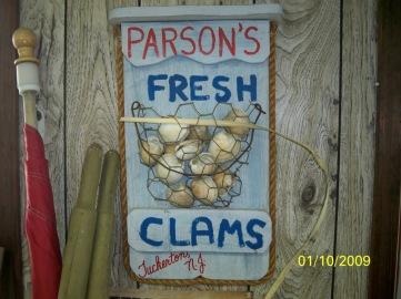 clam parsons