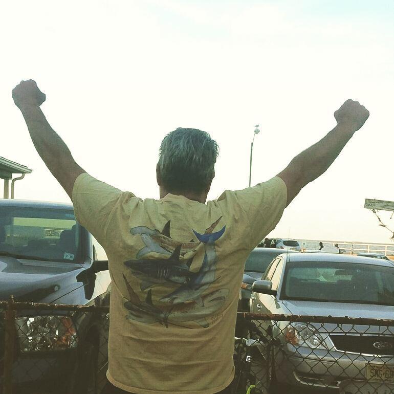 jim shark shirt